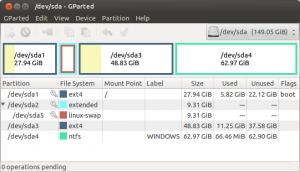 Gparted Ubuntu