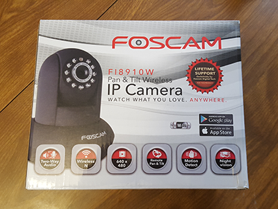 Foscam FI8910W Review