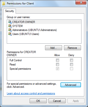 autocad registry permissions