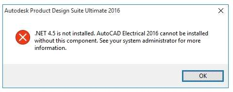 repair .net framework autocad