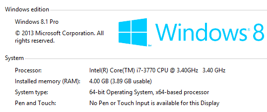 find out version of windows