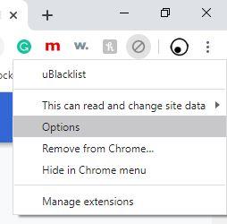 block sites in chrome
