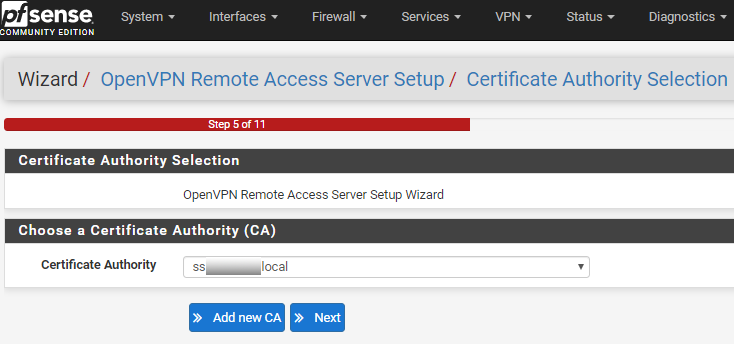 openvpn remote access server