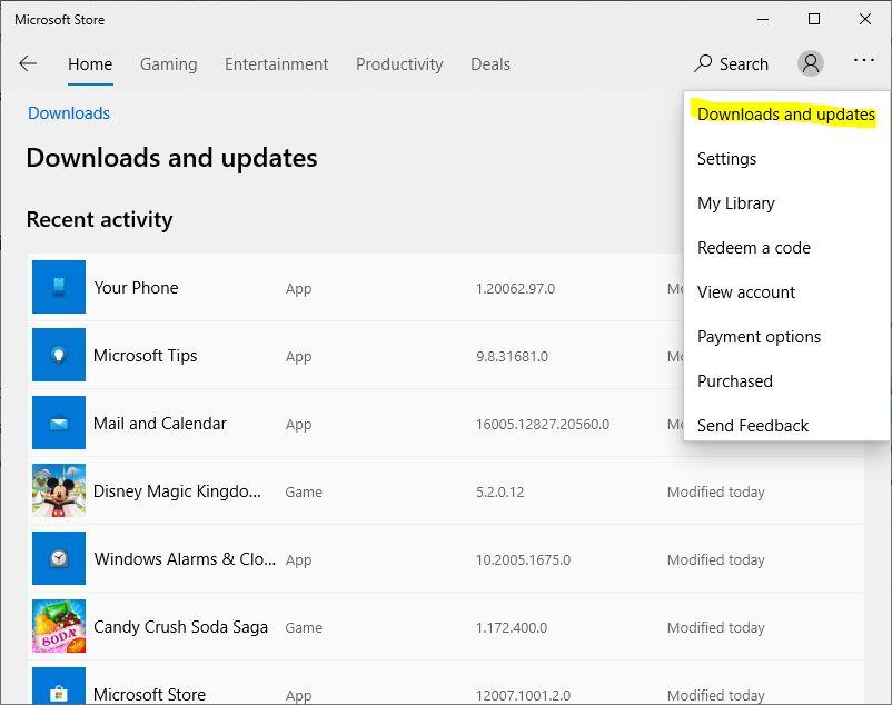 Windows App Updates