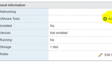 Open VM Tools Linux