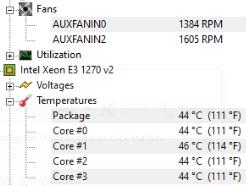 Xeon E3 1270 V2 Overheating