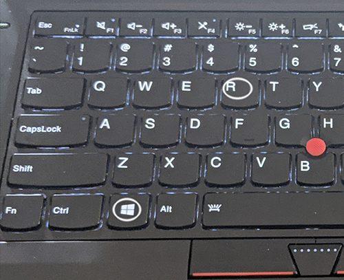 windows + R run shortcut