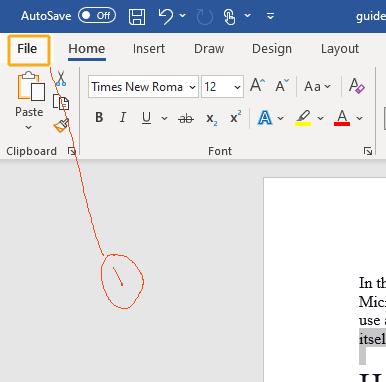 word document to pdf