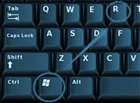 Windows Plus R Key